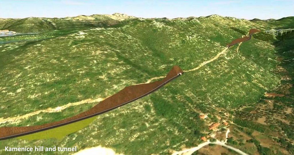 Kamenice Tunnel Peljesac Bridge